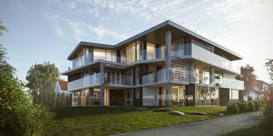 Budynek mieszkalny, Norwegia